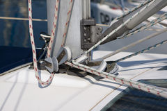Sail Boat Rigging Stock Photos