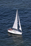 Sail Boat from the side Royalty Free Stock Image