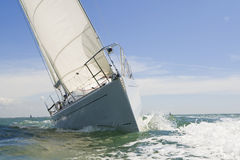 Sail Boat Up Close Stock Photography