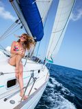 Sail boat Stock Photography