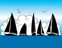 Sail Boats Royalty Free Stock Images