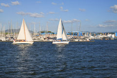 Sail Boats Stock Photography