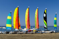 Sail boats Royalty Free Stock Photos