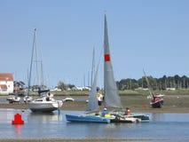 Sail boats Stock Photos