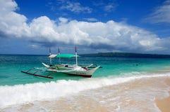 Sail boats in Puka Beach Stock Photos