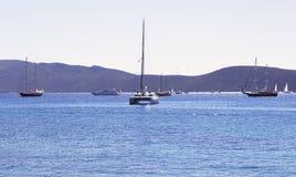 Sail boats yachts Royalty Free Stock Image