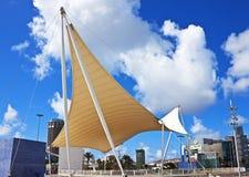 Sail canopy, Las Palmas, Canary Islands Royalty Free Stock Photo