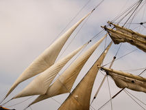 Sail closeup Royalty Free Stock Photos