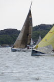 Sail competion stock photo