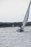 Sail competition stock photography