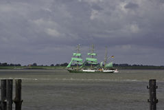 Sail event - Alexander von Humboldt Stock Images