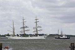 Sail event - Gorch Fock Stock Image