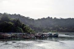 Sail. Koh Chang, Trad, Thailand stock photo