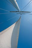 Sail and mast Royalty Free Stock Images