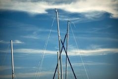 Sail masts Stock Photos