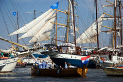 Sail Out 2015. Sunday 23 august Sail 2015; Sail out of the event Stock Photo
