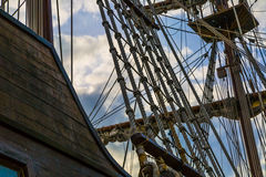 Sail Rigging Stock Image