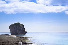 Sail rock in the kenting national park Royalty Free Stock Photos