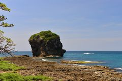Sail rock in the kenting national park Stock Photography