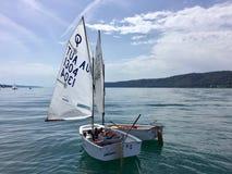 Sail, Sailboat, Dinghy Sailing, Water Transportation royalty free stock photo