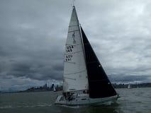 Sail, Sailboat, Dinghy Sailing, Water Transportation royalty free stock images