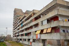 The sail of Scampia - Naples - Italy Stock Image