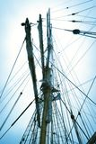 Sail the seas on a sleek Tall Ship royalty free stock photos