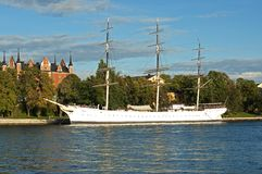 Sail ship Stock Images