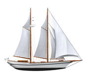 Sail Ship Isolated Royalty Free Stock Images