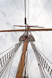 Sail ship mast Stock Photography