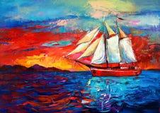 Sail ship Royalty Free Stock Image
