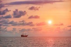 Sail Ship in Puerto Vallarta Royalty Free Stock Photography