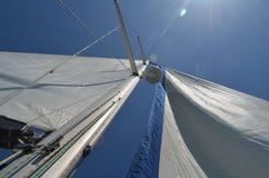 Sail, Sky, Sailing Ship, Fixed Link royalty free stock images