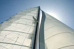 Sail Sky View 2 stock photography