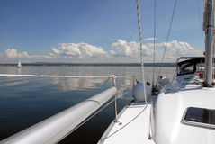 Sail solo Royalty Free Stock Photo