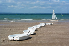 Sail training boats Royalty Free Stock Image
