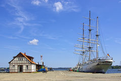 Sail training vessel Gorch Fock I Royalty Free Stock Images