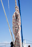 Sail with turnbuckle Royalty Free Stock Photos