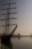 Sail vessel Stock Images