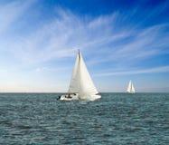 Sail yacht Royalty Free Stock Photo