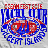 Sail Yacht Club Man T shirt Graphic Vector Design Stock Photography