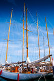 Sail yachts in port in France. Royalty Free Stock Photography