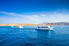 Sail yachts Stock Image