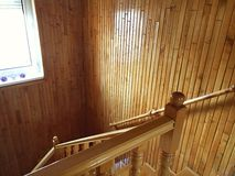 Sailant в лестнице Стоковые Изображения RF