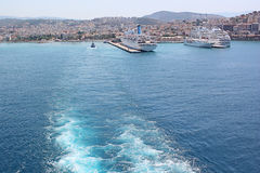 Sailaway From Ephesus stock images