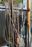 Sailbat展示的安纳波利斯内在港口 免版税库存照片