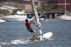 Sailboarder Stock Photos