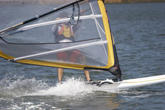 Sailboarder Stockbilder