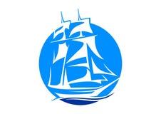 Sailboat λέσχη Διανυσματική απεικόνιση
