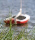 Sailboat έδεσε 2 Στοκ Φωτογραφία